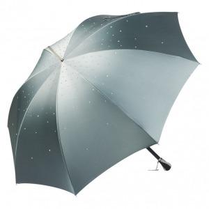 Зонт-трость Pasotti Swarovski Grigio фото-2