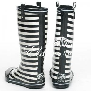Сапожки резиновые Zebra фото-4