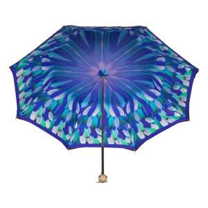 Зонт-трость Pasotti Blu Penna Flat Sfera фото-3