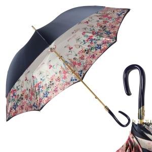 Зонт-трость Pasotti Blu Summer Plastica Fiore фото-1