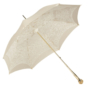 Зонт-трость Pasotti Ivory Dentell Mirrow фото-4