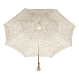 Зонт-трость Pasotti Ivory Dentell Mirrow фото-3