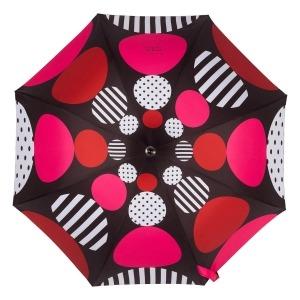 Зонт-Трость Chantal Thomass 1064-LA Geometrie Rosso фото-3