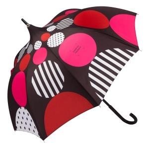 Зонт-Трость Chantal Thomass 1064-LA Geometrie Rosso фото-2