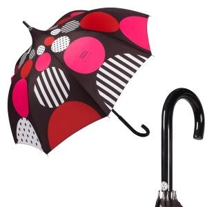 Зонт-Трость Chantal Thomass 1064-LA Geometrie Rosso фото-1