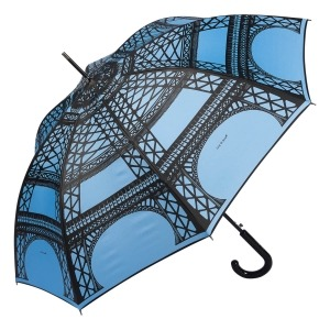 Зонт-Трость Guy De Jean 1214-LA Eiffel Blu фото-2