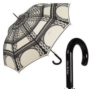 Зонт-Трость Guy De Jean 1214-LA Eiffel Crema фото-1