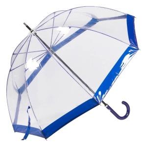 Зонт-трость M&P C4700-LM Transparent Blu фото-2