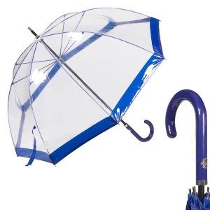 Зонт-трость M&P C4700-LM Transparent Blu фото-1