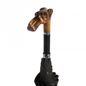 Зонт-трость Pasotti Alano Oxford Black фото-4