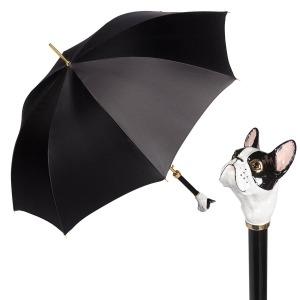 Зонт-трость Pasotti Atlas Black Bulldog Lux фото-1