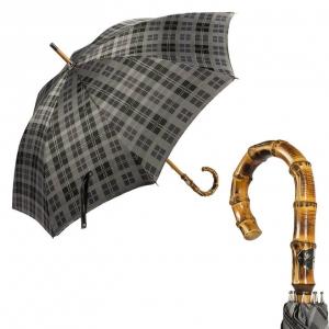 Зонт-трость Pasotti Bamboo Celtic Grey фото-1