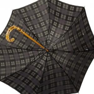 Зонт-трость Pasotti Bamboo Celtic Grey фото-3