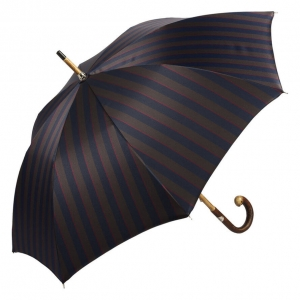 Зонт-трость Pasotti Bark Chestnut Alfred Blu фото-2
