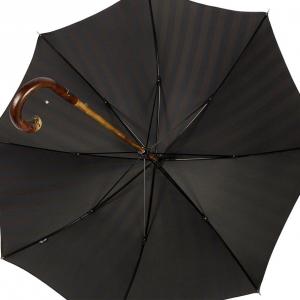 Зонт-трость Pasotti Bark Chestnut Alfred Blu фото-4