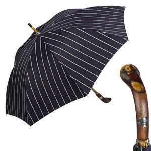 Зонт-трость Pasotti Bark Chestnut Bruce Blu фото-1