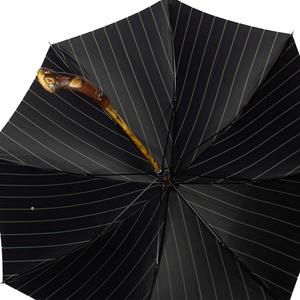Зонт-трость Pasotti Bark Chestnut Bruce Blu фото-4