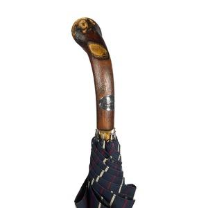 Зонт-трость Pasotti Bark Chestnut Bruce Blu фото-5