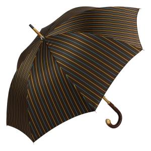 Зонт-трость Pasotti Bark Chestnut Bruce Marrone фото-2