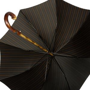 Зонт-трость Pasotti Bark Chestnut Bruce Marrone фото-4
