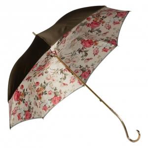 Зонт-трость Pasotti Becolore Beige Garden Oro фото-2