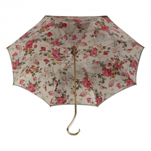 Зонт-трость Pasotti Becolore Beige Garden Oro фото-3
