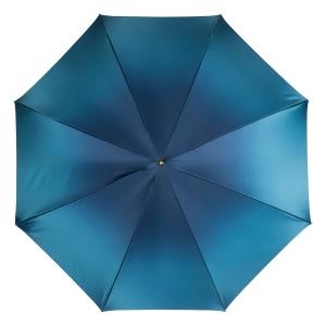 Зонт-трость Pasotti Becolore Blu Petalo Perle фото-4