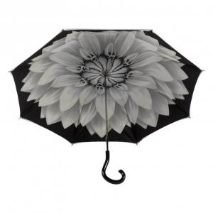 Зонт-трость Pasotti Becolore Georgin Grigio Plastica Strass фото-3