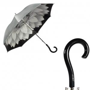 Зонт-трость Pasotti Becolore Georgin Grigio Plastica Strass фото-1