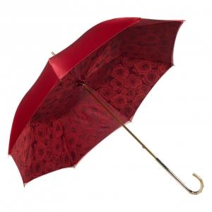 Зонт-трость Pasotti Becolore Rosso Rosa Oro Dentell фото-2