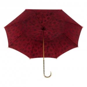 Зонт-трость Pasotti Becolore Rosso Rosa Oro Dentell фото-3