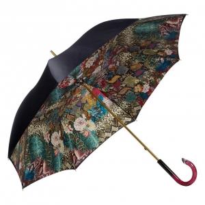 Зонт-трость Pasotti Blu Flowers Snake Plastica фото-2