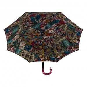 Зонт-трость Pasotti Blu Flowers Snake Plastica фото-4