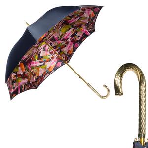 Зонт-трость Pasotti Blu Luminoso Spring фото-1