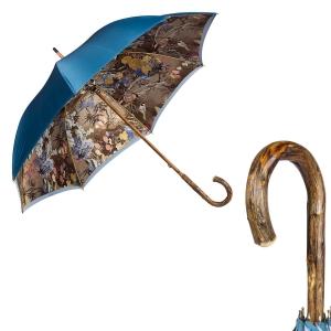 Зонт-трость Pasotti Blu Paradis Broom фото-1