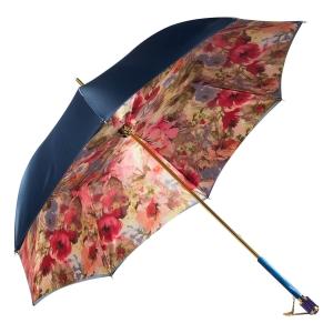 Зонт-трость Pasotti Blu Pion Vetro Blu фото-2