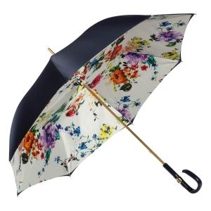 Зонт-трость Pasotti Blu Ticolori Plastica Fiore фото-2