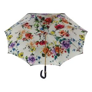 Зонт-трость Pasotti Blu Ticolori Plastica Fiore фото-3