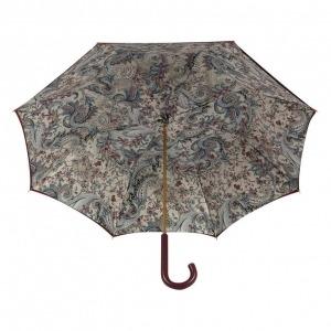 Зонт-трость Pasotti Bordo Lino Classic Pelle фото-3