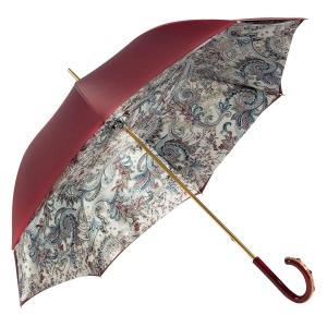 Зонт-трость Pasotti Bordo Lino Plastica Fiore фото-2