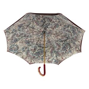 Зонт-трость Pasotti Bordo Lino Plastica Fiore фото-3