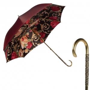 Зонт-трость Pasotti Bordo Palazzo Oro Dentell фото-1