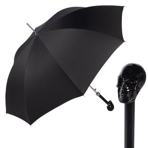 Зонт-трость Pasotti Capo Nero StripesS Black фото-1