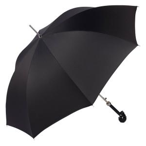 Зонт-трость Pasotti Capo Nero StripesS Black фото-2