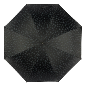 Зонт-трость Pasotti Capo Sculls Swarovski Nero фото-3