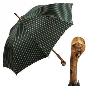 Зонт-трость Pasotti Chestnut Bruce Verde фото-1