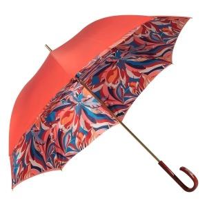 Зонт-трость Pasotti Coral Lumino Rosso Strass фото-2