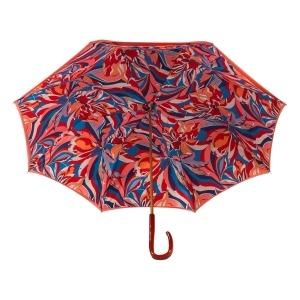 Зонт-трость Pasotti Coral Lumino Rosso Strass фото-3