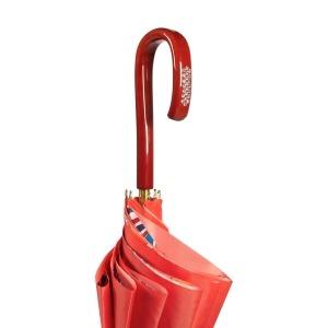 Зонт-трость Pasotti Coral Lumino Rosso Strass фото-5