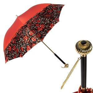 Зонт-трость Pasotti Coral Papavero Globe фото-1